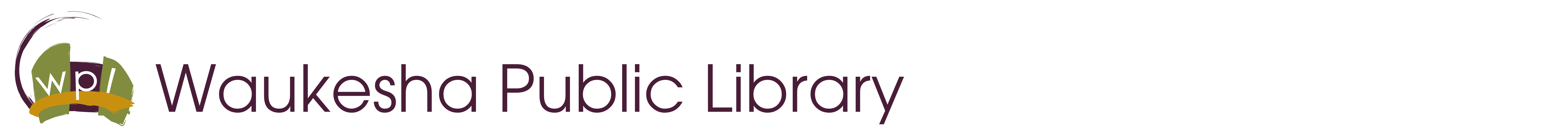 Waukesha Public Library Logo