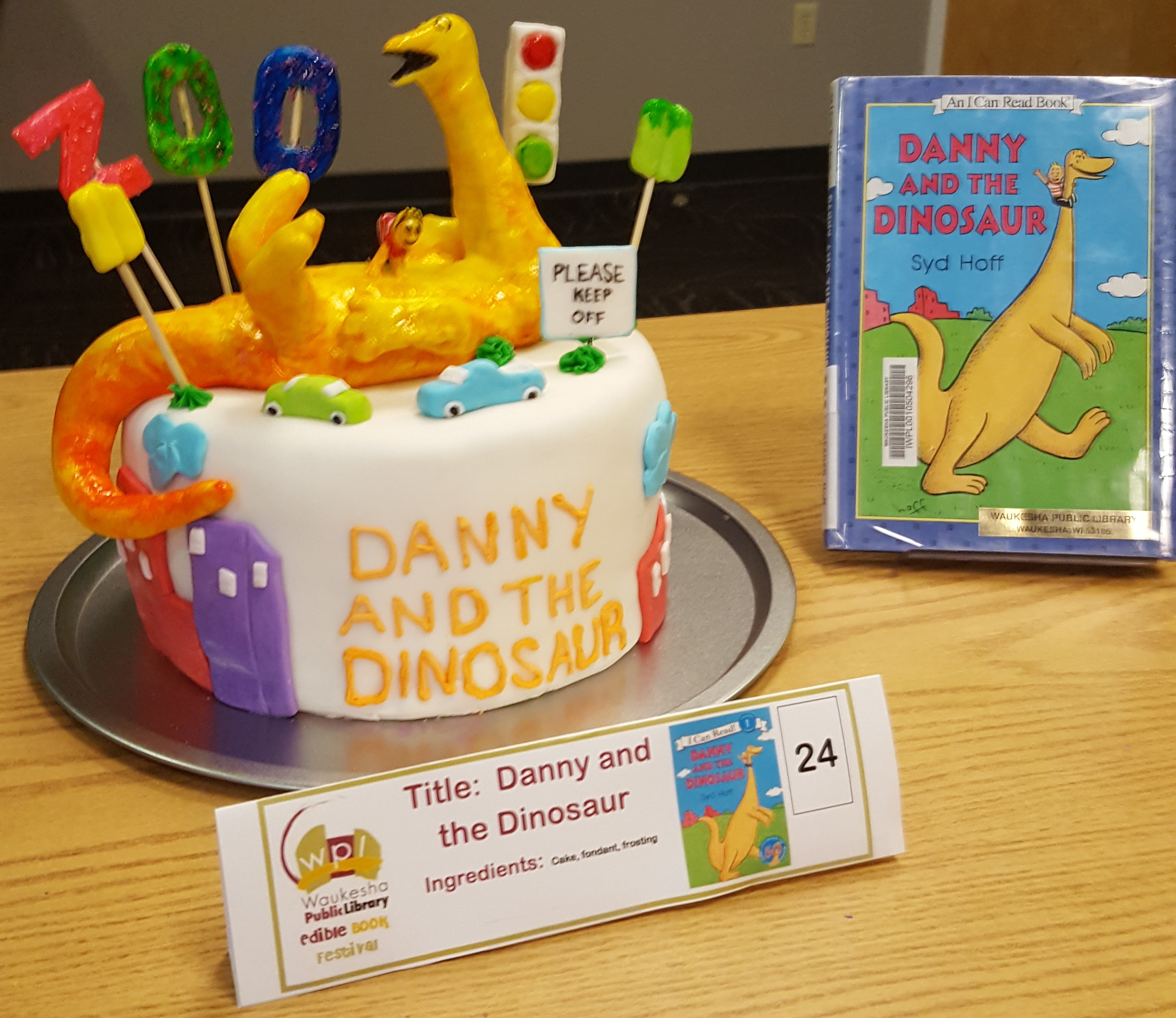 Most Likely to be Eaten: Danny and the Dinosaur by Dakota Diaz with Chance, Sailor, and Luke.