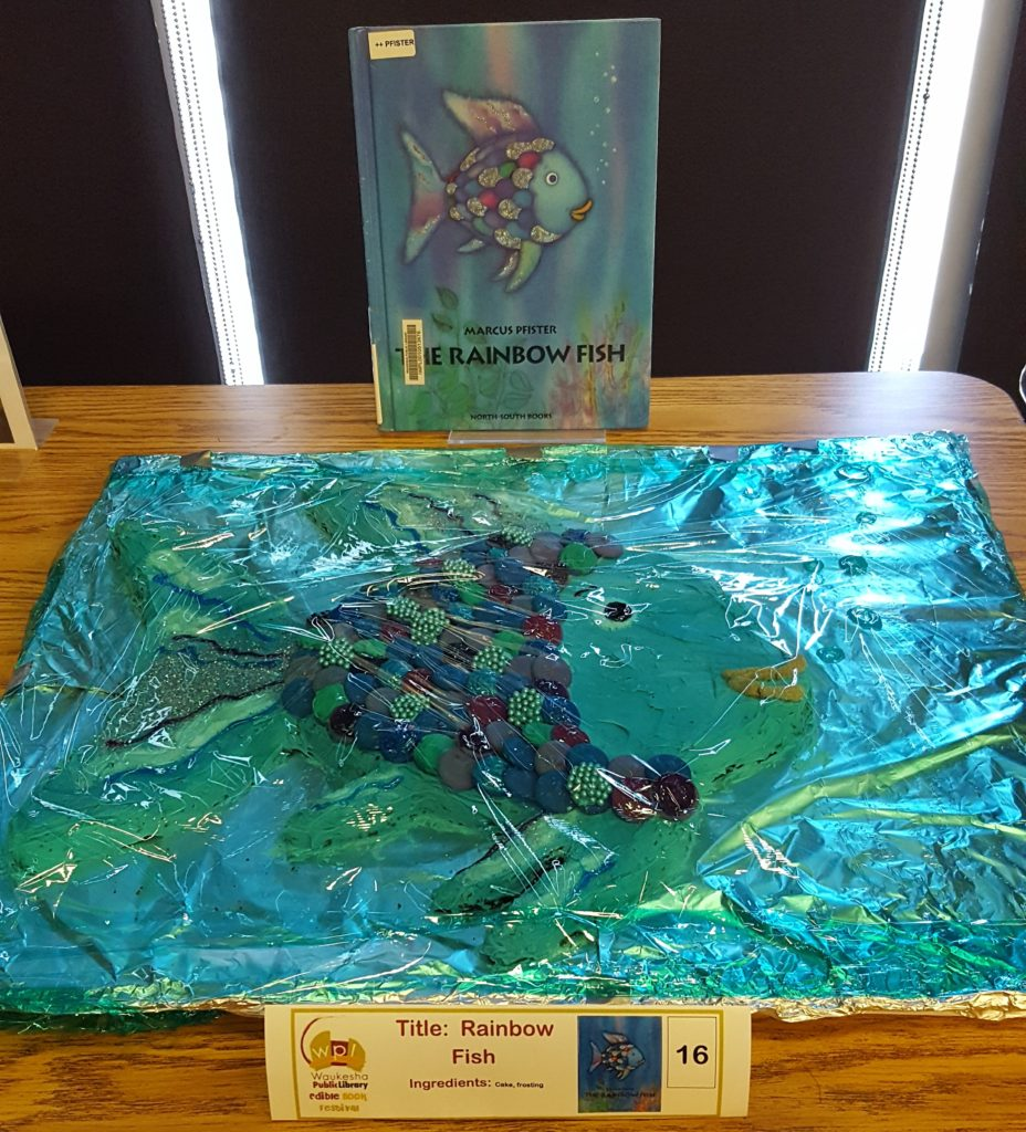 Rainbow Fish - WINNER Most Creative Use of Ingredients Kathryn Henderson