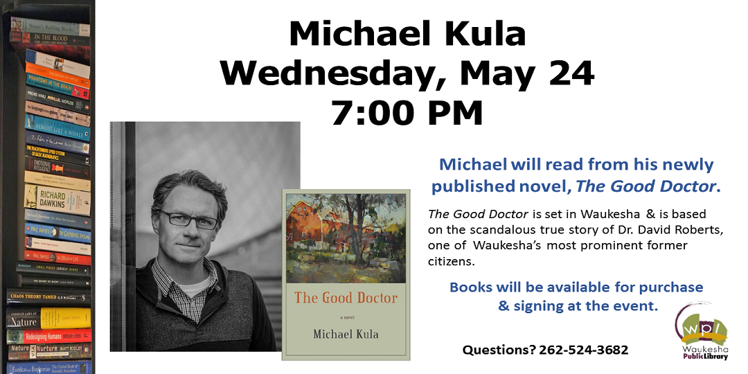 Michael Kula author event May 24 2017