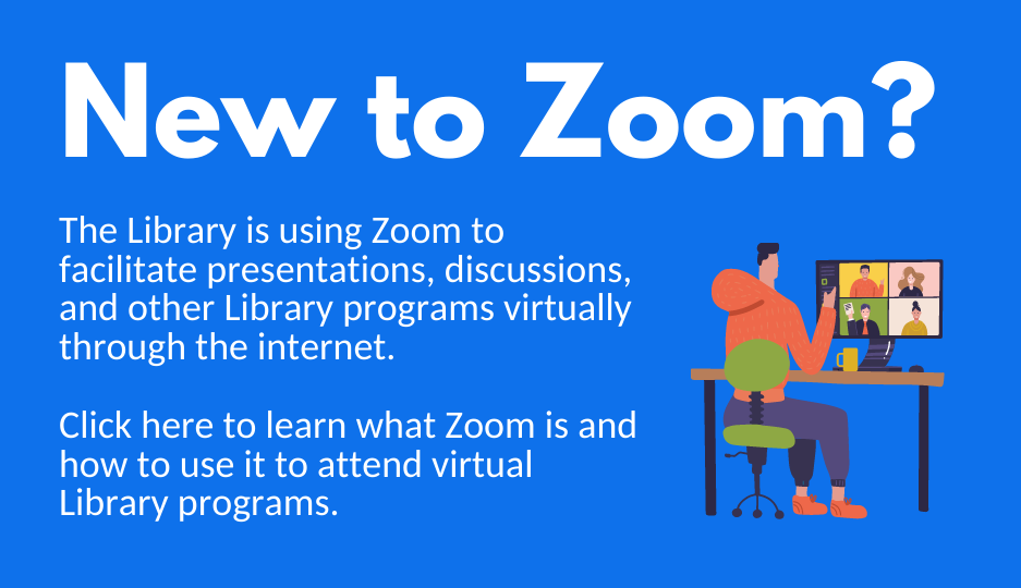 Guide to Zoom for virtual Library programs